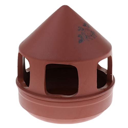 Purple Sand Bird Feeder Cage Accessories Parrot Canary Seed Food - Duet Pedestal