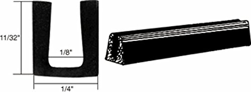 - CRL Glass and Acrylic Setting Rubber Channel for 1/8