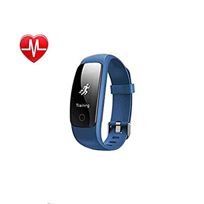 YXINY Smart Sports Wristband ID107Plus Activity Tracker Smart Bracelet IOS and Android 0 96 inches OLED Heart Rate Monitor Call Reminding Pedometer Smart Watch Black Blue Green Purple Red Spor Estimated Price £52.67 -