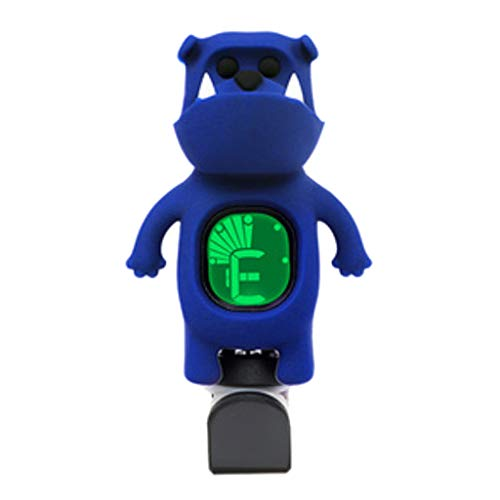 Cute Cartoon Bulldog Clip-On Tuner LCD Display For Chromatic Bass Ukulele Acoustic Guitar Accessories