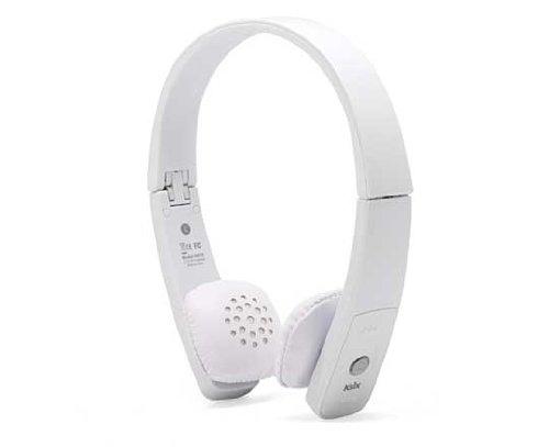 Ksix Go&Play - Auriculares, de diadema cerrados Bluetooth (medianos), blanco: Amazon.es: Electrónica