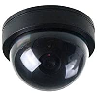 Cámara ficticia de BW, cámara Falsa de Seguridad para el hogar con luz LED Intermitente