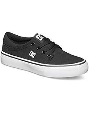 Boys Trase Tx Black White Shoes Size