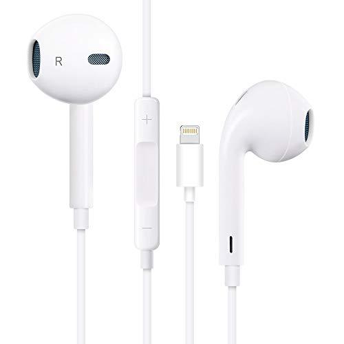 Belog Earphones, Noise Isolating Earbuds, with Microphone Headset Stereo Headphones Made Compatible with iPhone Xs/iPhone XR/iPhone X/iPhone 7/iPhone 8 /Apple (Bluetooth Connectivity) Earphones