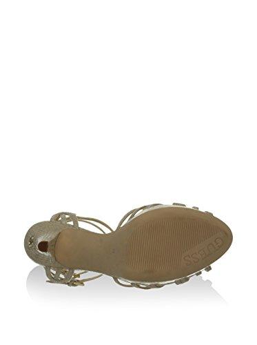 Beige Noir FL2AU2PEL03 Colonel Ou Modèle Ouverts Guess Beige Chaussures Escarpins Femme pqwCFa