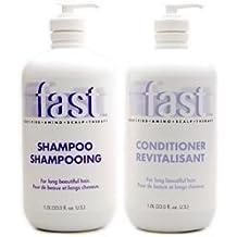 NISIM F.A.S.T. FAST Shampoo for Fast Hair Growth Shampoo & Conditioner 33 oz each by Nisim [Beauty]