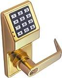 Alarm Lock DL2800-US3 Trilogy Digital Keypad Lock w/ Audit Trail w/ Standard Cylinder