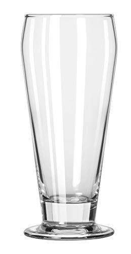 Libbey 3812 Footed Beers 12 Ounce Ale Glass - 36 / CS