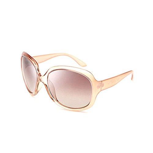 DT Que la Sol de de los de 5 Vintage conducen Gafas Sra polarizadas vidrios Sol la de Gafas Cara Redondas Color ArSA4wqx
