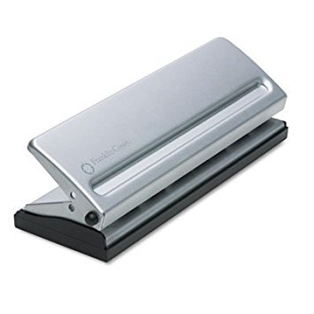 Four-Sheet Seven-Hole Punch for Classic Style Day Planner Pages, Metal, 5 1/2'' x 8 1/2'' Page Size by Franklin Covey