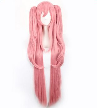 "Dosige Krulu Cosplay Wig ""The End Blazing Angels"" anime Peluca De mujeres Cabello"