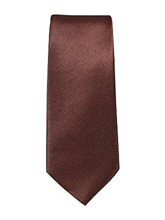 Dylm Corbata Slim marrón Talla única: Amazon.es: Ropa y accesorios