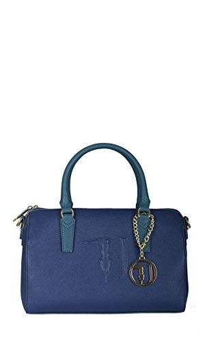 Borsa bauletto Trussardi Jeans ischia blu Primavera Estate 2017 - 75B554XX , Blu Blu