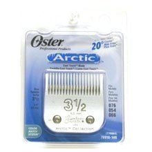 Oster Professional 76918-146 Replacement Clipper Blade for Classic 76/Star-Teq/Power-Teq, Size 3-1/2 (Wide Clipper Blade)