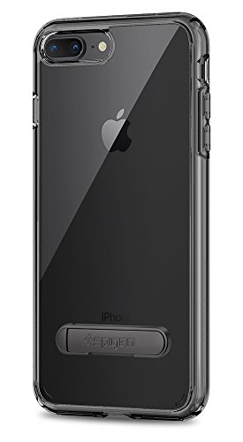 Spigen Ultra Hybrid S [2nd Generation] iPhone 8 Plus Case / iPhone 7 Plus Case with Air Cushion Technology and Kickstand for Apple iPhone 8 Plus (2017) / iPhone 7 Plus (2016) - Space Crystal - Kickstand Case
