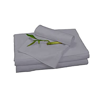 BedVoyage Bamboo Rayon Sheet Set - Queen - Platinum