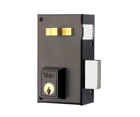 Yale Cerradura de Sobreponer Estándar 56-AHPR-60 Derecha, Hierro Pintado: Amazon.es: Bricolaje y herramientas