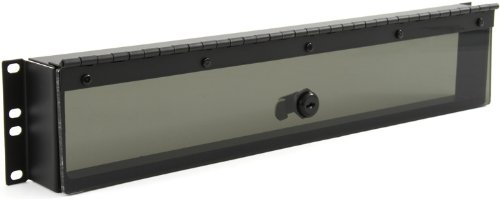 Hinged Plexiglass Security Cover for Rackmounts