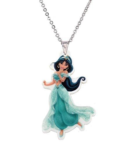 Collana Pendente di Jasmine per Bambina - Collana con Ciondolo - Gioelli della Principessa Jasmine