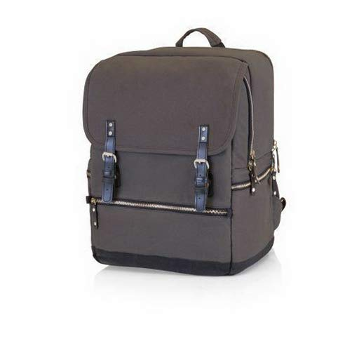 Mikash Bar-Backpack - Grey/Black | Model PCNCST - 147