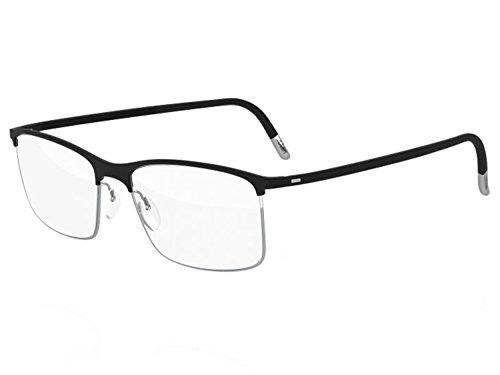 Silhouette Eyeglasses URBAN FUSION Collection 2904 (black grey, 54mm)