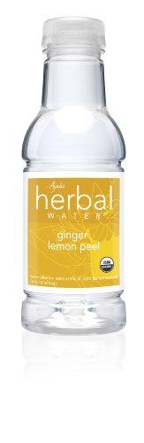 Ayalas Herbal Water, Ginger Lemon Peel, 16-Ounce Bottles (Pack of 12)
