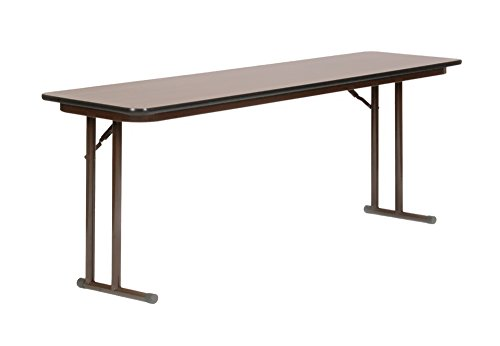 Correll ST1860PX 01 High Pressure Laminate Classroom, Training and Seminar Off Set Leg Folding Table, Rectangular, 18