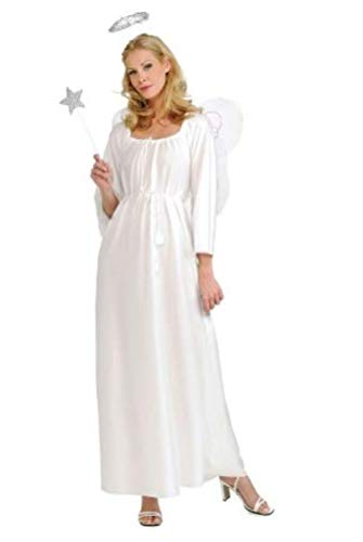 White Angel Costume For Women (Rubie's Angel Costume, White, One)