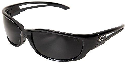 Edge Eyewear Kazbek XL Sunglasses, Black Frame, Smoke Vapor