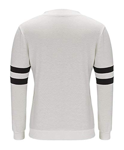 Ropa Manga Oldschool Libre Outwear Coat College Al Men De Jacket Ladies Style Blanco Sweatjacket Aire Larga Sport vHwtwAq