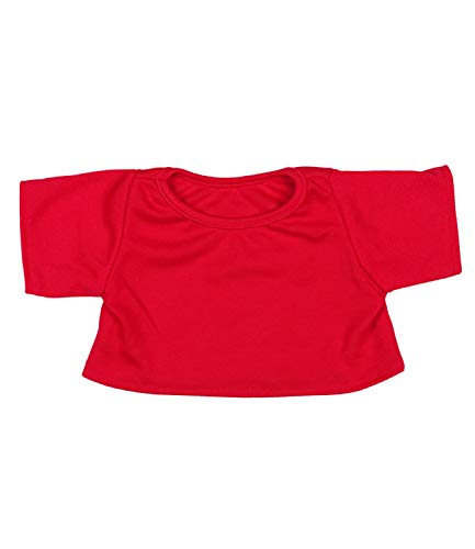 (Red T-Shirt Outfit Teddy Bear Clothes Fit 14