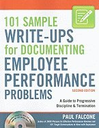 Read Online 101 Sample Write-Ups for Documenting Employee Performance Problems: A Guide to Progressive Discipline & Termination [With CDROM] ebook