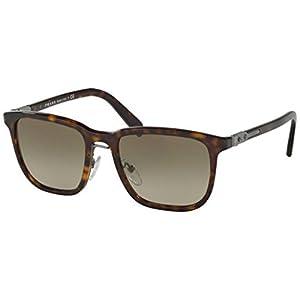 Prada Men's 0PR 02TS Havana/Brown Gradient Sunglasses