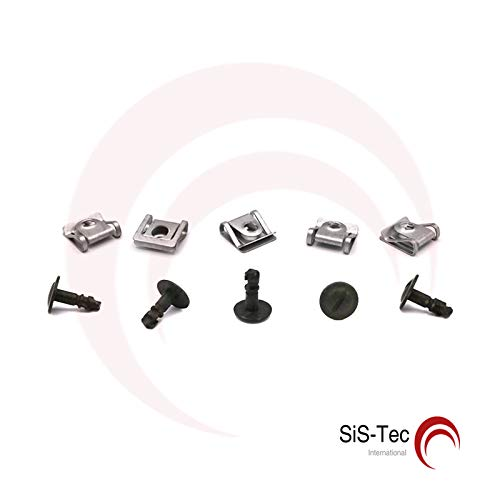 8D0805121B Retaining Clamp Protection Screws Clip Set of 5: