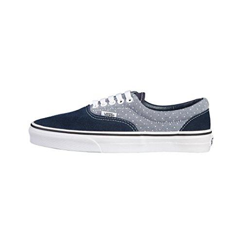 Vans U ERA Chaussures Mode Sneakers Unisex Cuir Suede Bleu VANS
