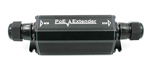 GPOE-Extender IEEE 802.3at Active Gigabit Power Over Ethernet Extender for Outdoor ()