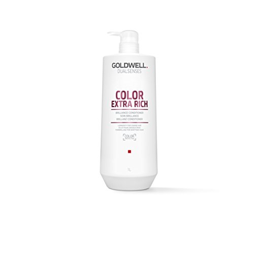 Goldwell Dualsenses Color Extra Rich Brilliance Conditioner FadeStop Luminous Nourished Hair 33.8 oz