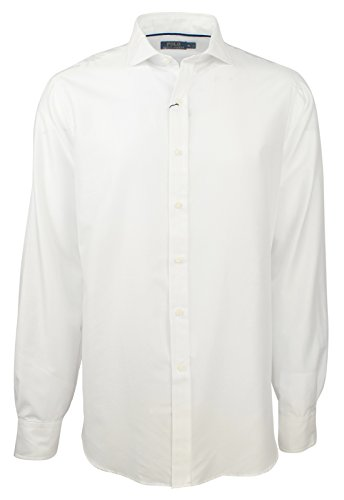 Ralph Lauren Polo Men's Regular Fit Solid Dress Shirt-W-XL by RALPH LAUREN