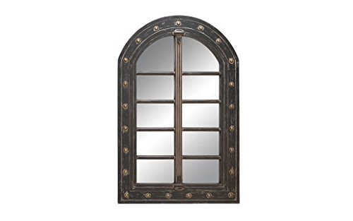 Cheap Deco 79 Wall Accent Mirrors Wood Mirror, 48 by 32-Inch