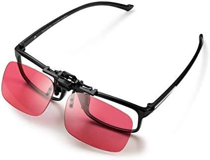 Pilestone GM-3 Color Blind Corrective Glasses for Red-Green Blindness (Color Blind Glasses)-Clip on Same Lenses as GM-2