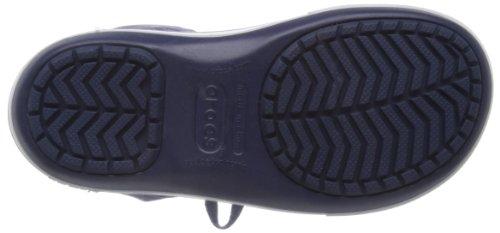 Crocs Womens Crocband Ii.5 Stivale In Pizzo Navy Nautico / Neon Viola