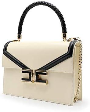 Elisabetta Franchi Luxury Fashion Donna BS22A01E2E84 Bianco Borsa A Mano  