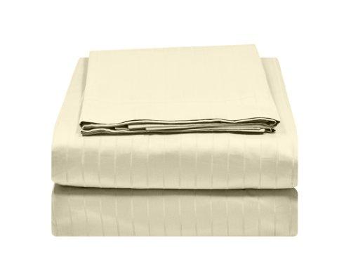 UPC 814114003372, Alok International 450-100038 450 Thread Count Cotton Duvet Set, Full/Queen, Ecru