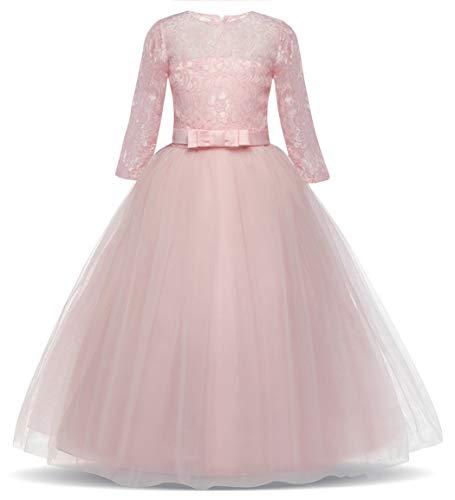 AmzBarley Girls Tulle Lace Dress Birthday Wedding Party for sale  Delivered anywhere in Canada
