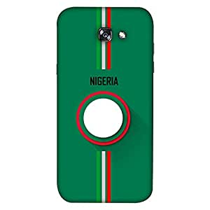 ColorKing Samsung A5 2017 Football Green Case shell cover - Fifa Nigeria 01