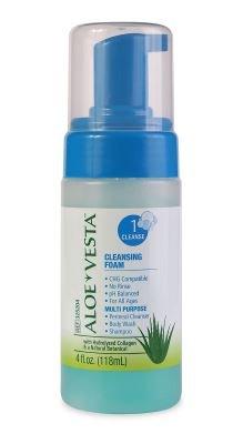 ConvaTec Aloe Vesta Cleansing Foam (4 OZ 24 Per Case)