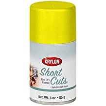 3 Oz Sun Yellow Short Cuts® Spray Paint [Set of 6]