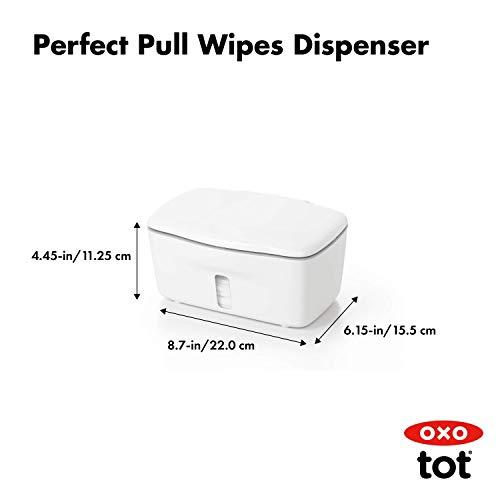31 9cMJ3djL - OXO Tot Perfect Pull Wipes Dispenser, Gray