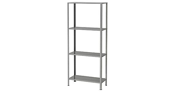 Ikea HYLLIS - Estantería galvanizada - 60x27x140 cm: Amazon ...