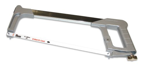 MK Morse HHBF04 Contractor High Tension Hack Saw Frame with Blade
